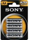 Sony 4PCS BLLIST ZINK-CHLORID
