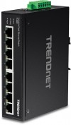 TrendNET 8-Port Industrial Fast Etherne